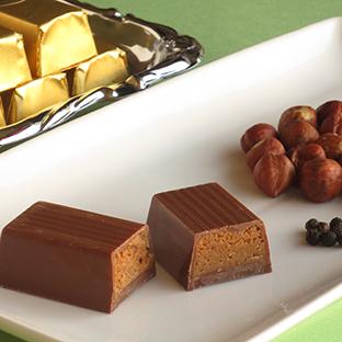 ミルクチョコレートのトゥロン