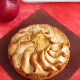 リンゴのパウンドケーキ